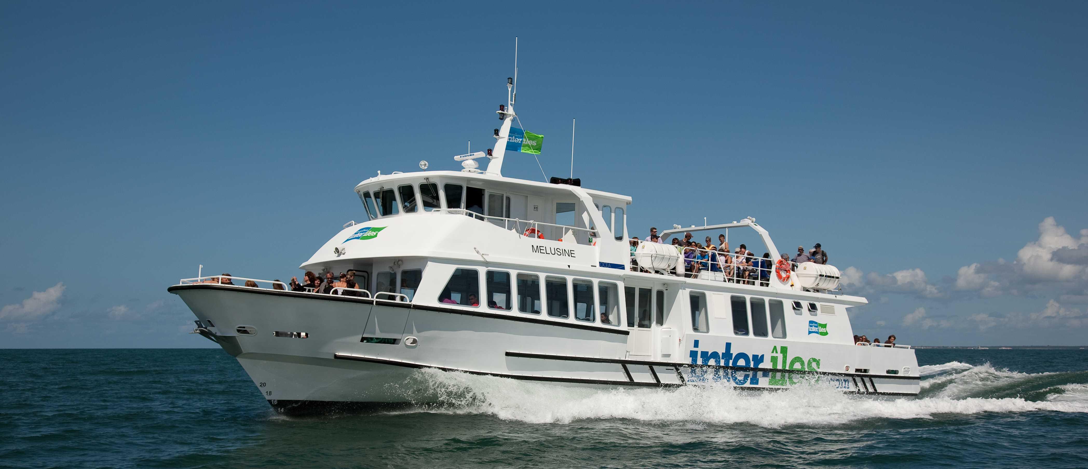Navire à passagers Melusine. Photo Compagnie Inter-Iles - Droits Réservés.