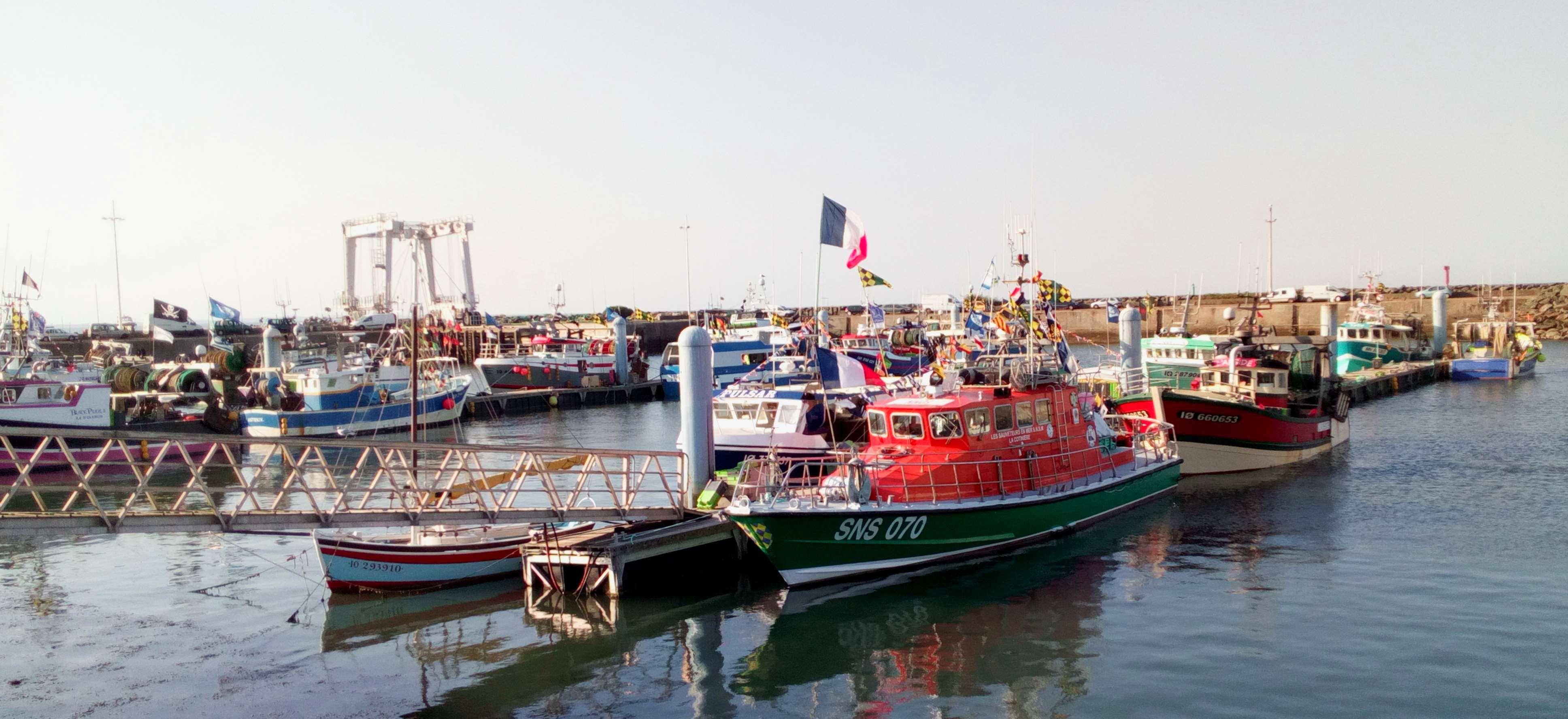 Port de pêche de La Cotinière. Photo PY Larrieu - LMA La Rochelle.